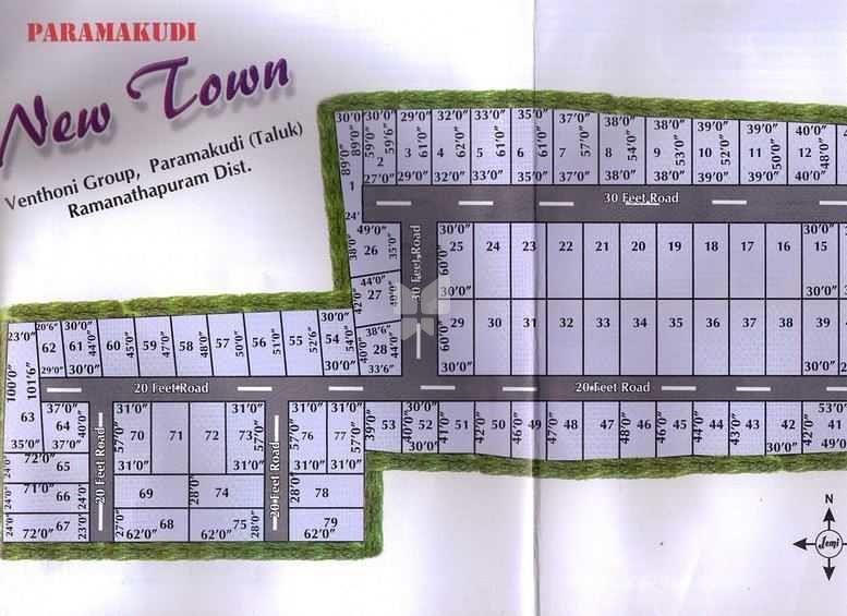 Jemi Suresh Garden - Master Plan