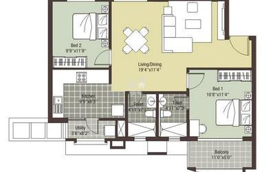 arihant-escapade-in-thoraipakkam-floor-plan-2d-onm