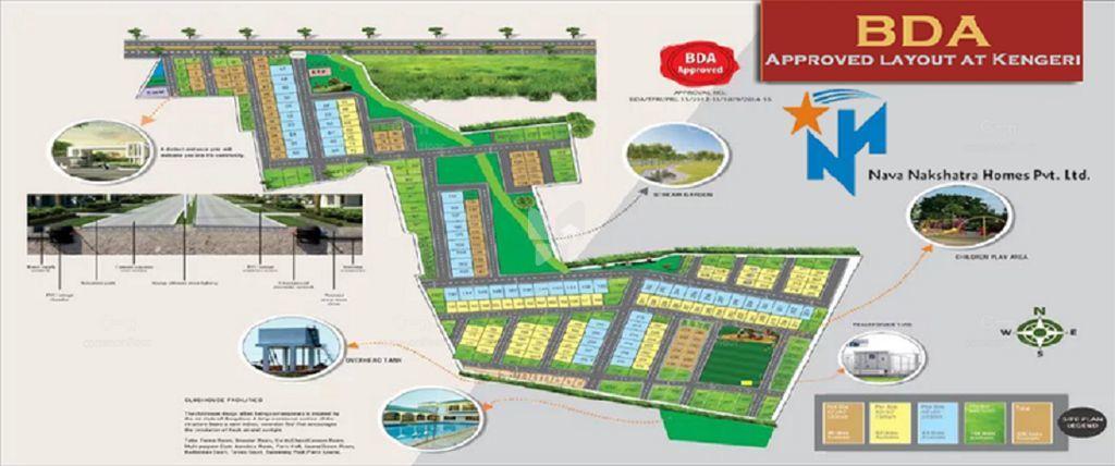 Nava Nakshatra BDA Layout - Master Plan