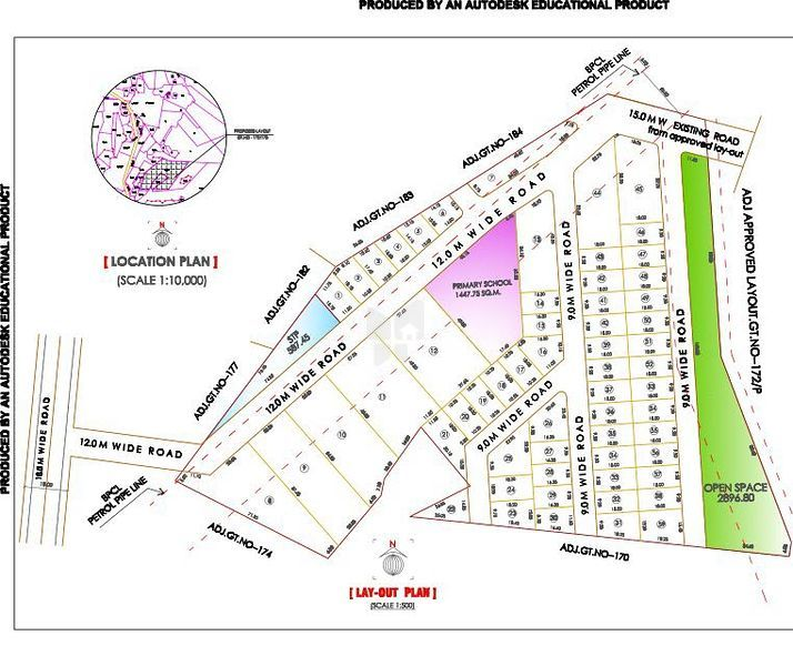Vrindavan Garden Homes - Master Plan