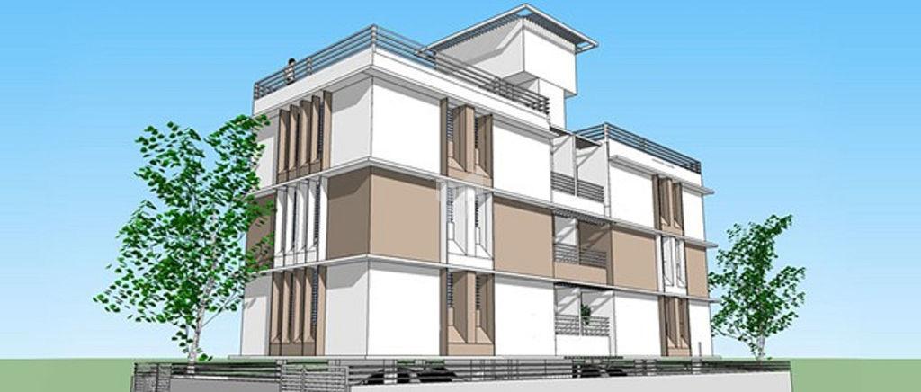 Riswadkar Anandmayee Apartments - Elevation Photo