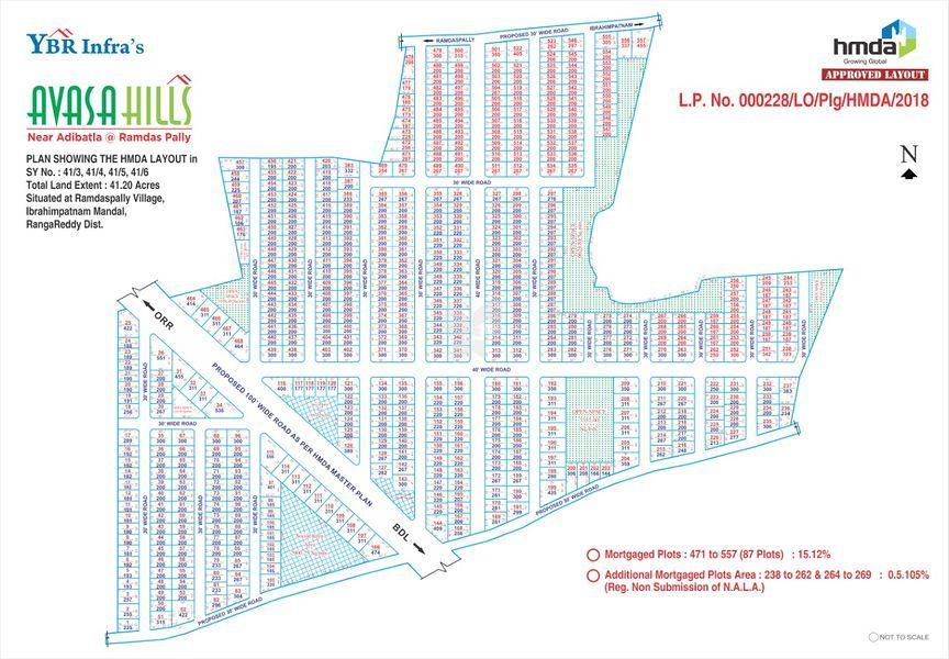 YBR Avasa Hills - Master Plans