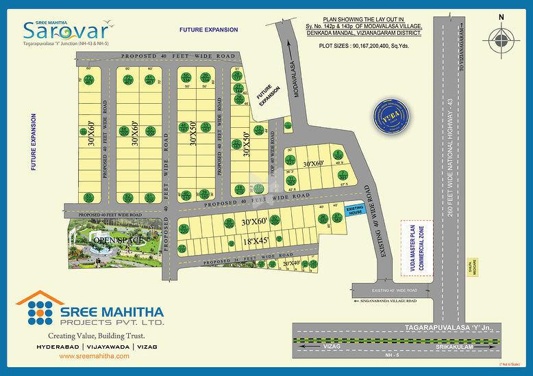 Sree Mahitha Sarovar - Master Plans