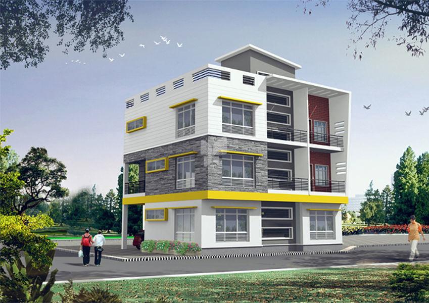 Satyavani SMP Green Homes - Elevation Photo