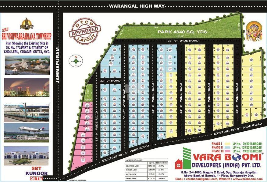 VB Sri Vishwabrahmana Township - Master Plans