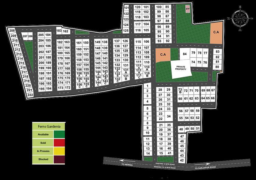 Ferns Gardenia - Master Plans