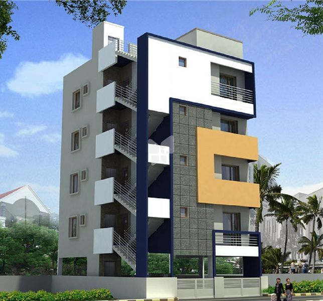 VRAJ Residency - Elevation Photo