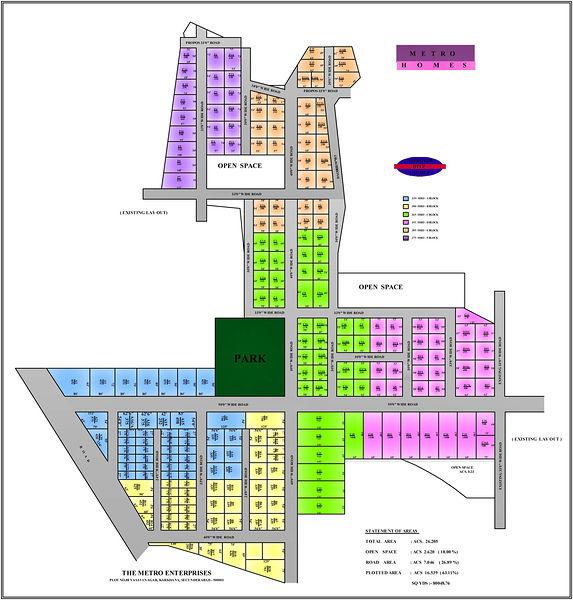 Metro Homes - Master Plans