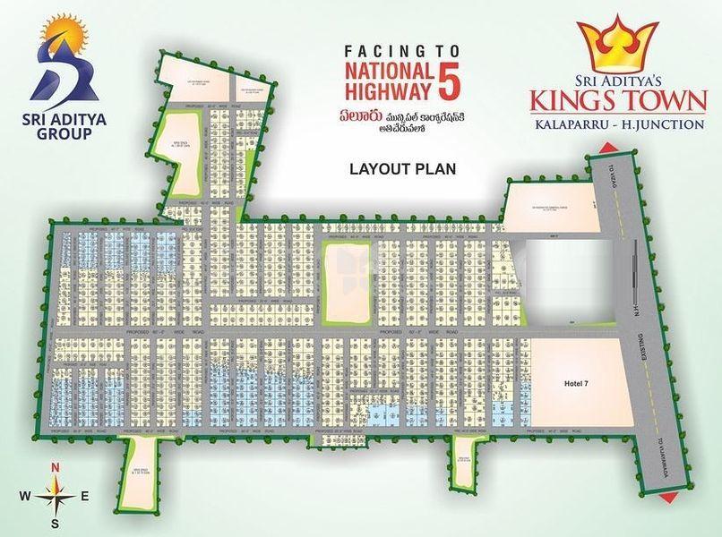 Sri Aditya Kings Town - Master Plan
