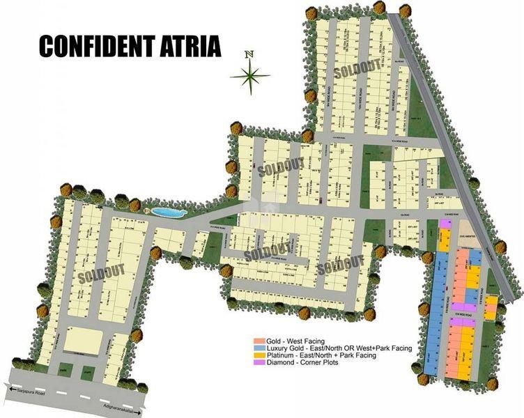 Confident Atria - Master Plans