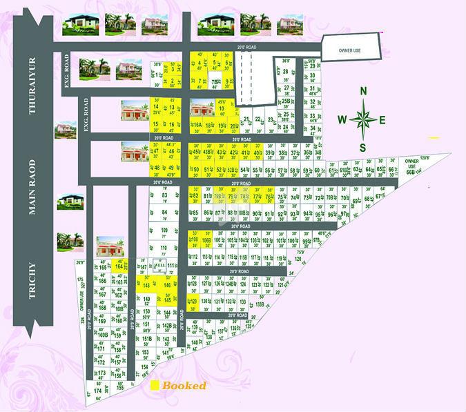 Lion City Developers Deiva Nagar - Master Plans