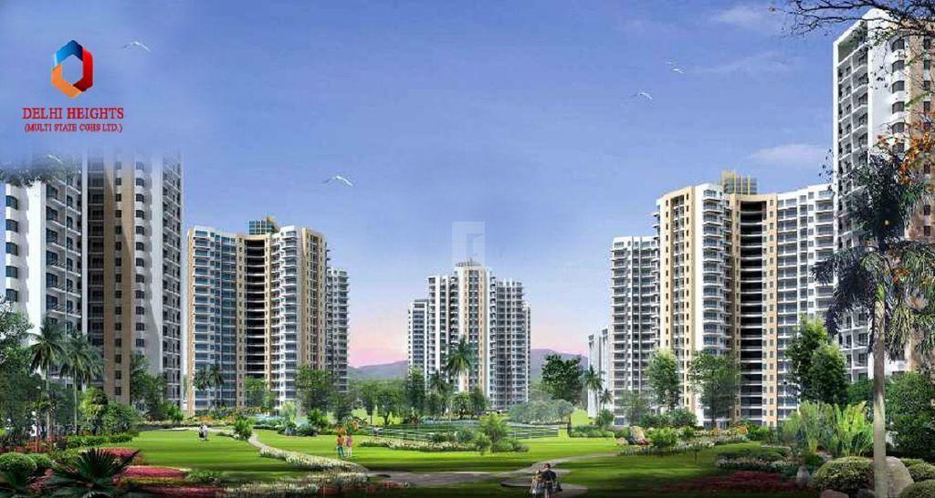 Delhi Housing Society - Elevation Photo
