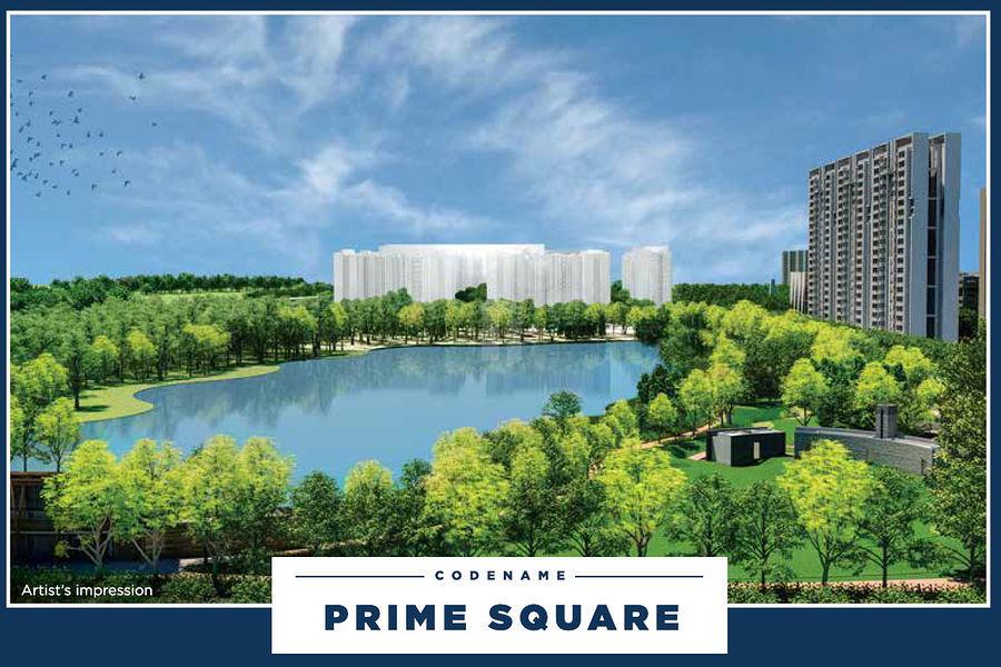 Lodha Prime Square - Elevation Photo