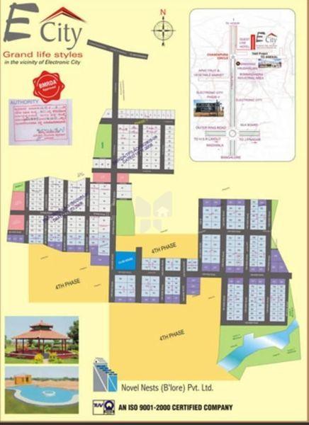 Novel Nests E City - Master Plan