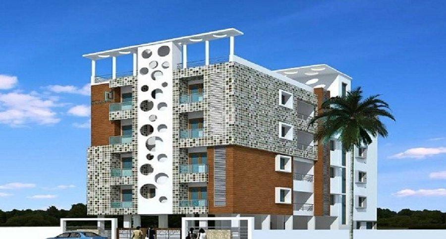 Lahari Satyavir Apartments - Elevation Photo