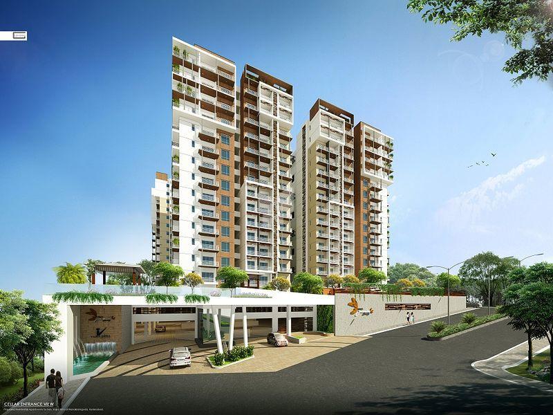 Vajra 39 s jasmine county in gachibowli hyderabad price for Apartment plans hyderabad