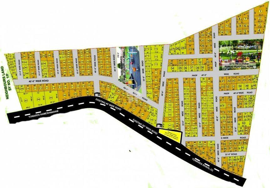 Amrutha Maitri Enclave - Master Plans