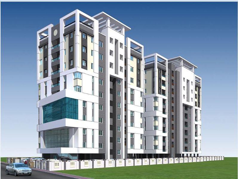 Ganga Ishana Apartments - Elevation Photo