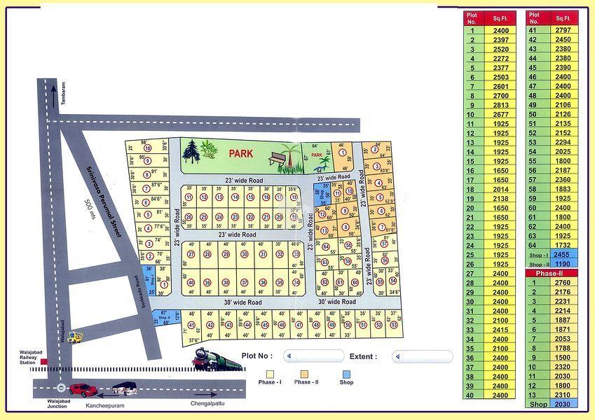Real Earth Sri Sai Garden - Master Plan