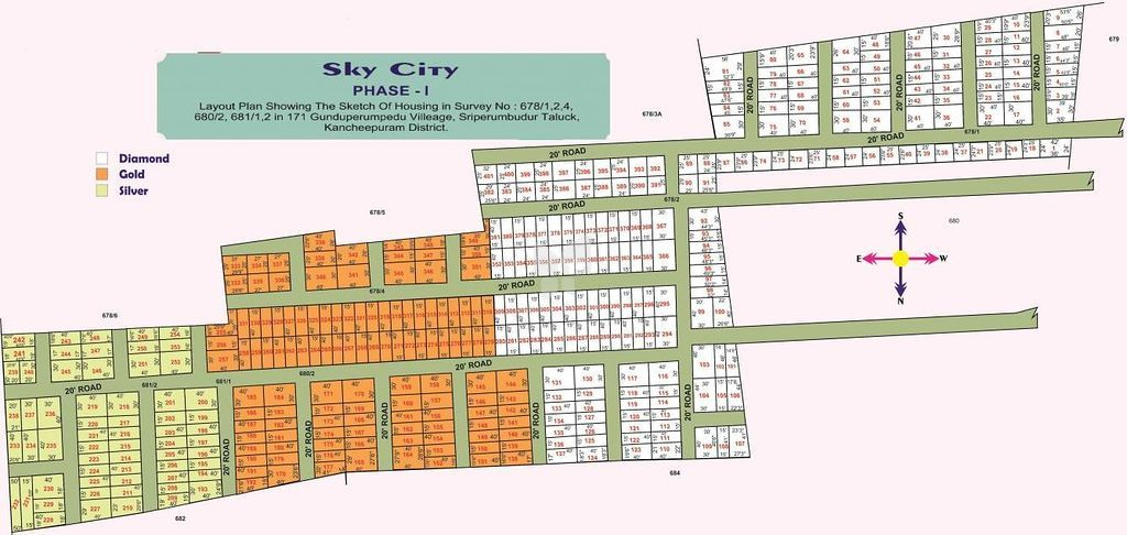 Sky City Phase I - Master Plan
