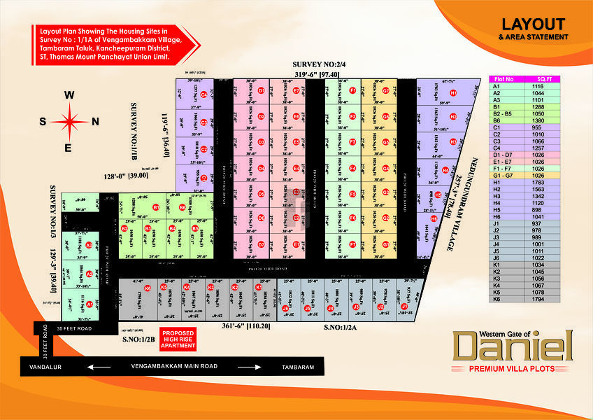 Western Gate of Daniel - Master Plan