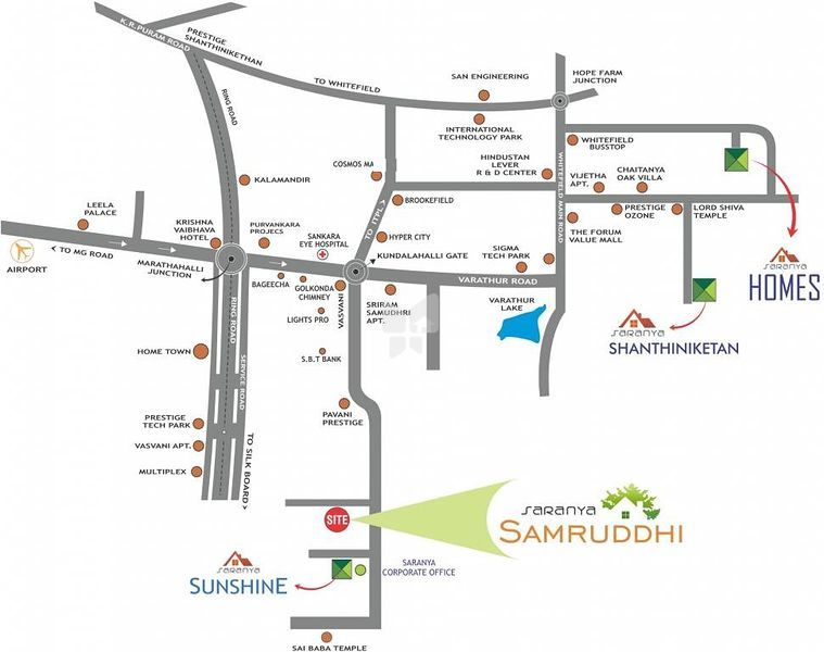 Projects by Saranya Group in Bangalore - Roofandfloor from