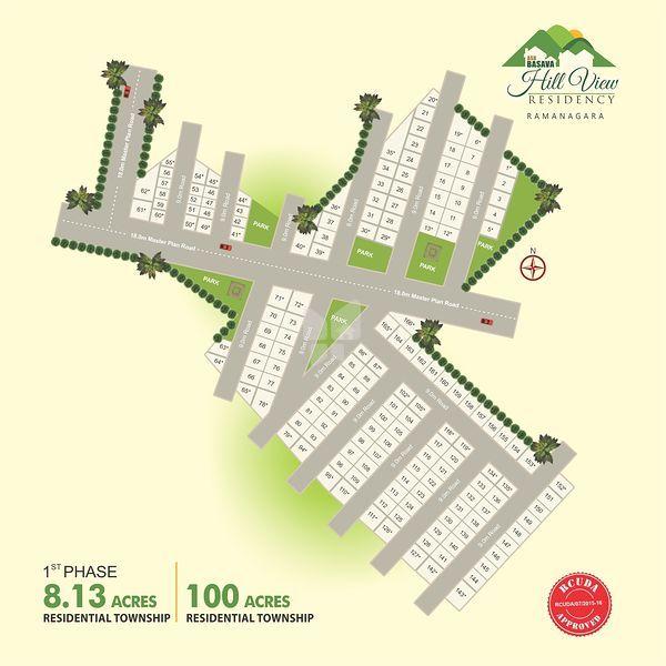 ASB Basava Hill View Phase-1 - Master Plan