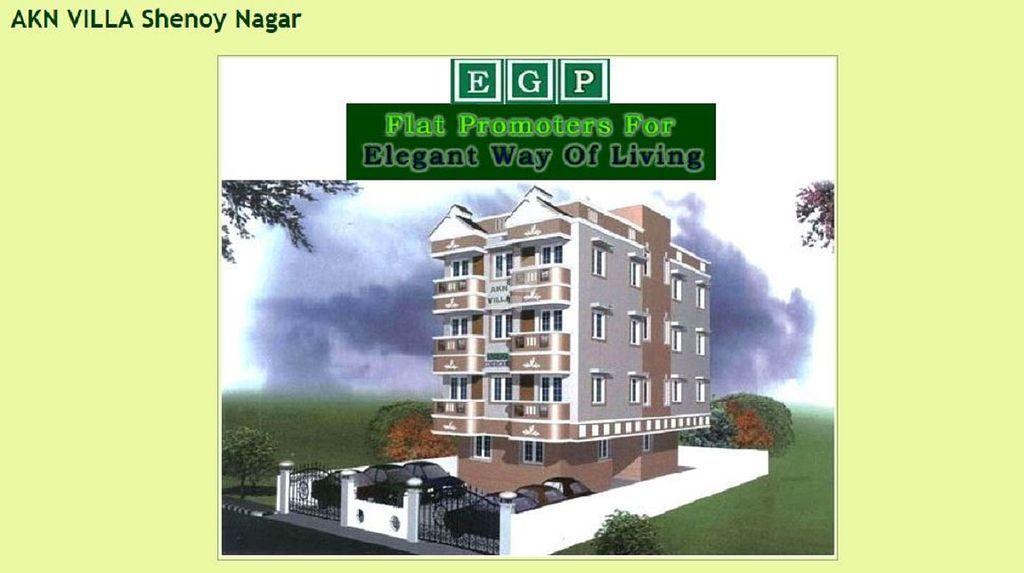 EGPI AKN Villa Shenoy Nagar - Elevation Photo