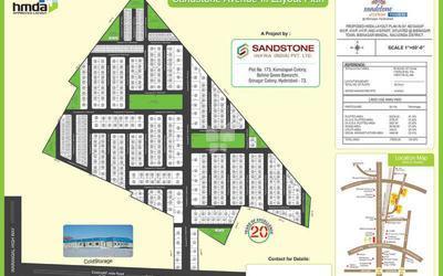 sandstone-avenue-in-bibi-nagar-master-plan-1cme