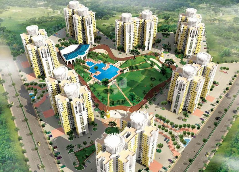 Nirmal Lifestyle City Kalyan Platano C - Elevation Photo