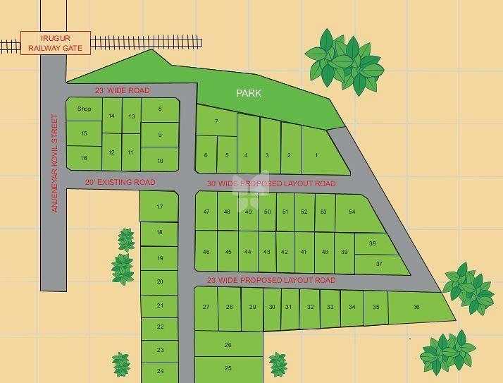 Hygrevar Sree Lakshmi Gardens - Master Plans