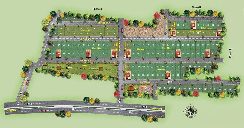 Vijetha Smart City - Master Plans