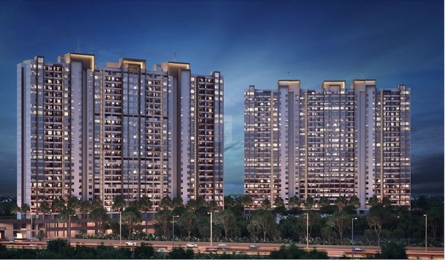 Paranjape Trident Towers - Project Images