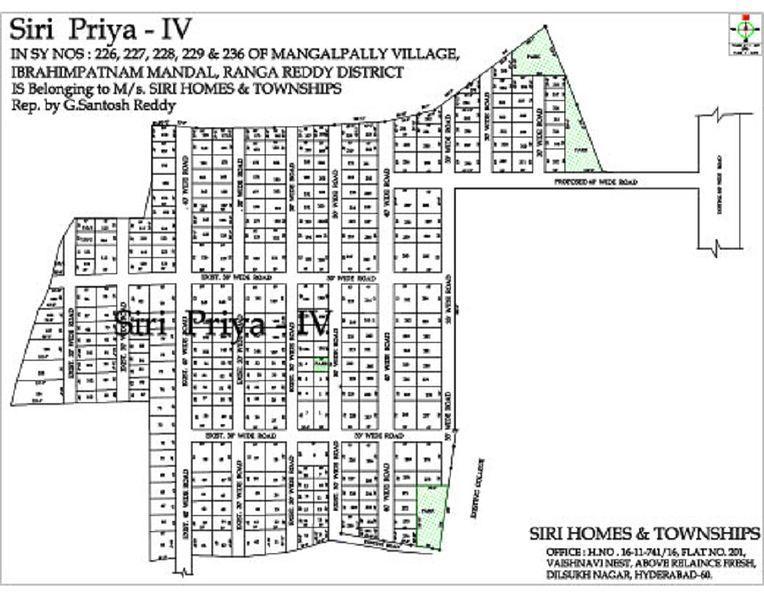 Siri Priya IV - Master Plan