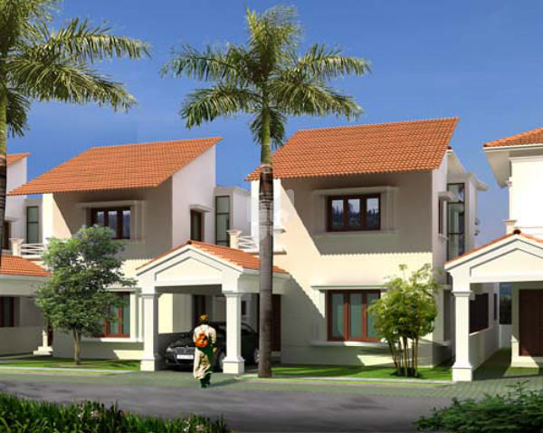 Jain Housing Gardens - Elevation Photo