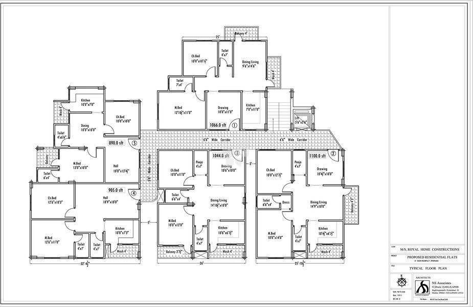 Sun Shine - Floor plan