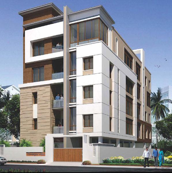 4 Floor Apartment Elevation : Choice n in jubilee hills hyderabad price floor
