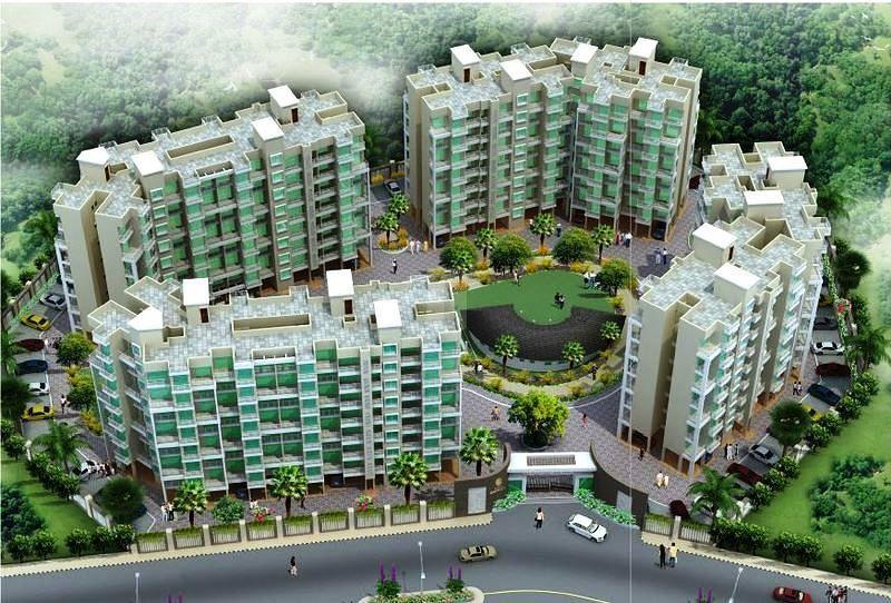 Akshar Emperia Garden - Elevation Photo