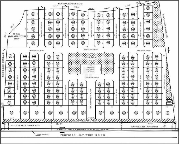 GRR Infra Eden Gardens - Master Plan