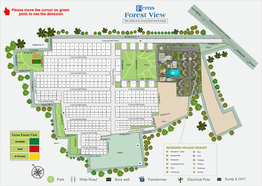 Ferns Forest View - Master Plans