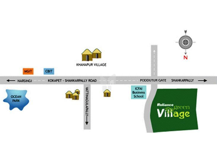Reliance Green Village In Shankarpalli Hyderabad Price