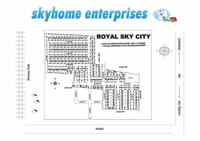 Sky Royal Sky City - Master Plan