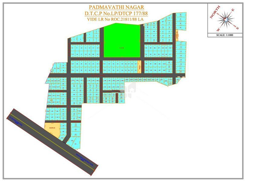 Aishwaryam Padmavathy Garden - Master Plans