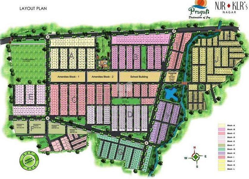 Pragati NJR KLRs Nagar - Master Plans