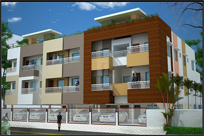 Kumaran Flats - Elevation Photo