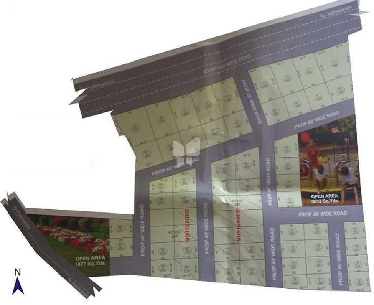 SLS NRIs Diamond City - Master Plan