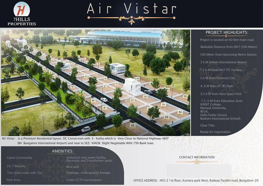 Air Vistar - Elevation Photo