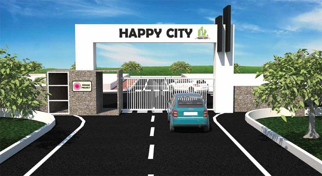 Kruthi Happy City - Elevation Photo