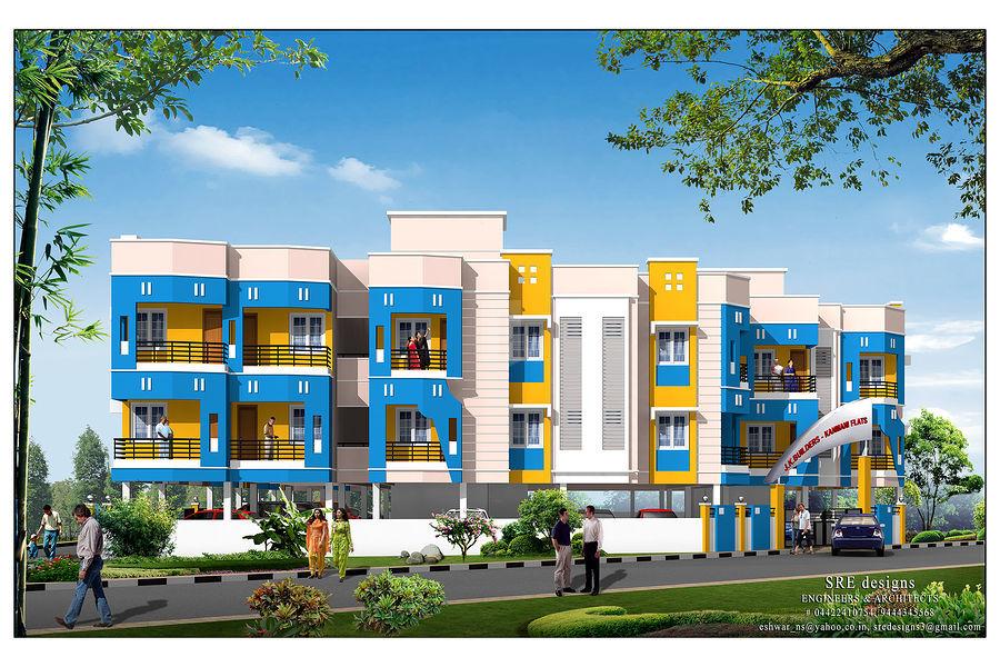 JK Kanmani Enclave - Project Images