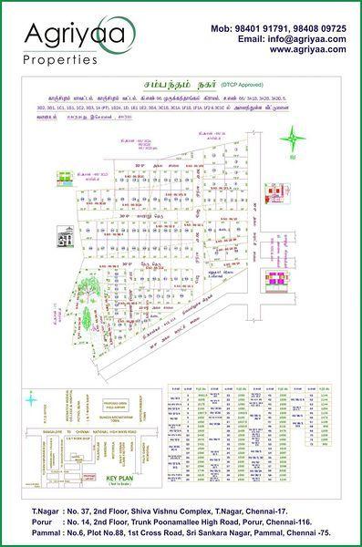 Sambandam Nagar - Master Plan